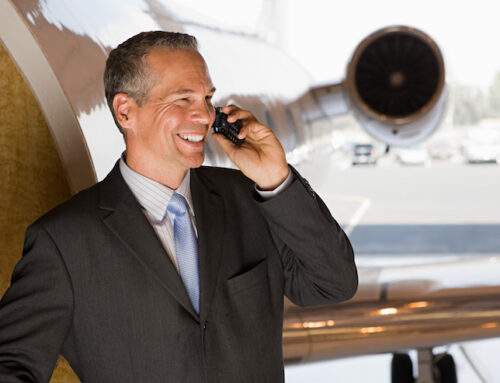 Small Companies Outsize Competitors With Private Aviation