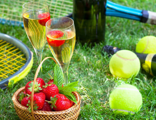 Fine Wine, Garden Walks, and Tennis Legends: Wimbledon 2019